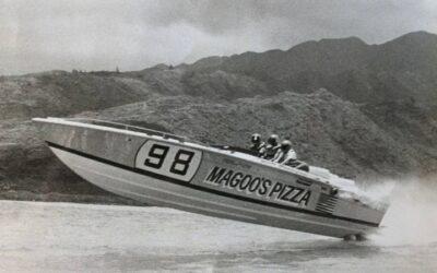 The Magoo's Cigarette Boat